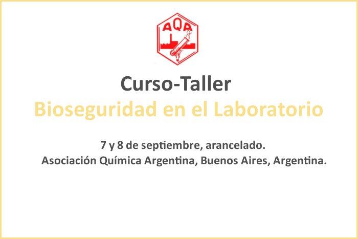 Curso-Taller  Bioseguridad en el Laboratorio   Infobioquimica.org 85a1a1c6ad